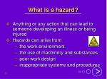 what is a hazard
