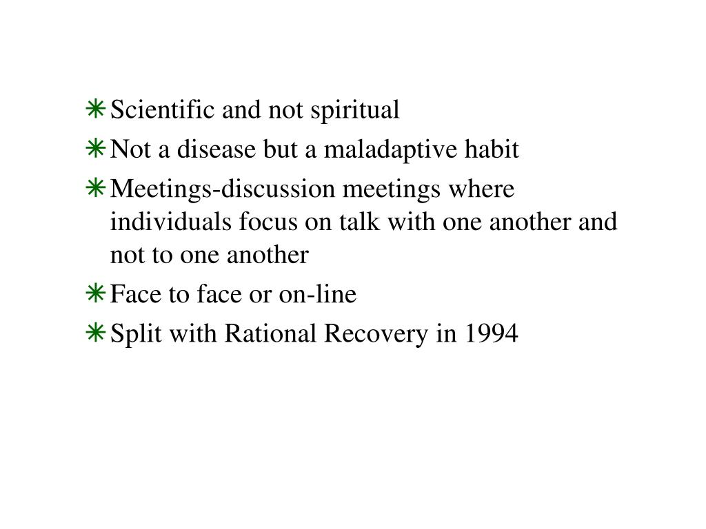 Scientific and not spiritual