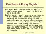 excellence equity together19
