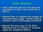 john keynes