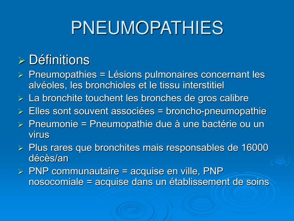 pneumopathies l.