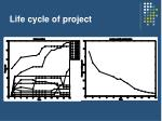 life cycle of project