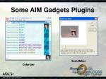 some aim gadgets plugins