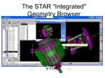 the star integrated geometry browser