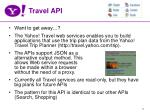 travel api