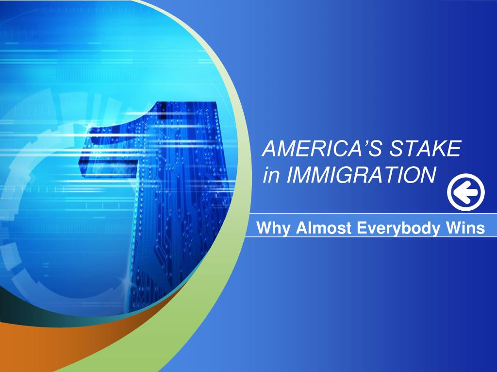 america s stake in immigration l.