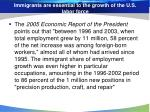immigrants are essential to the growth of the u s labor force
