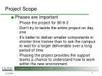 project scope4