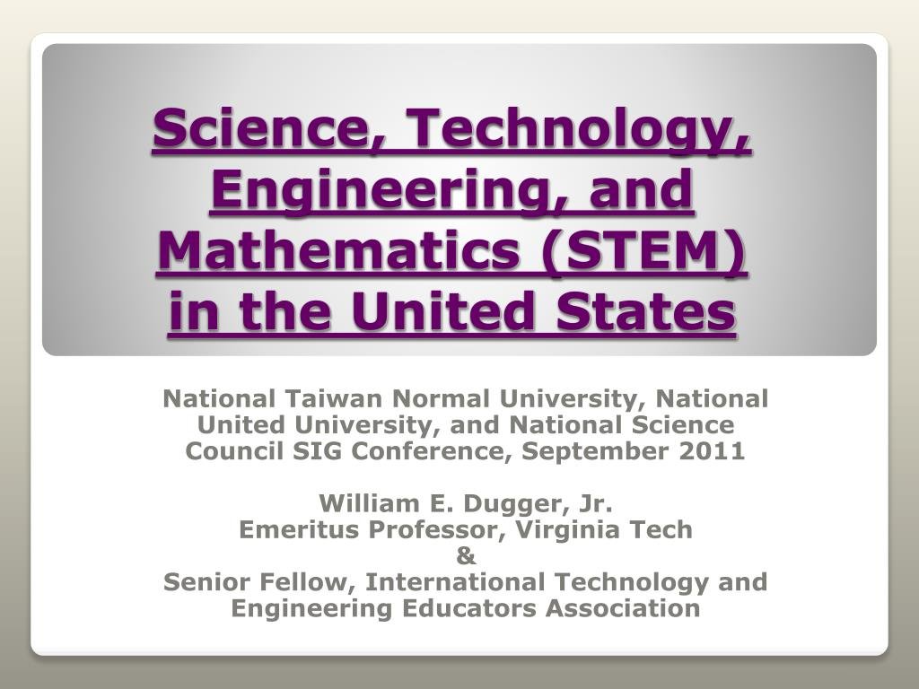 science technology engineering and mathematics stem in the united states l.