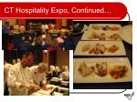 ct hospitality expo continued