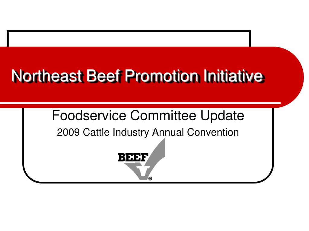 northeast beef promotion initiative l.