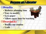 become an i ducator