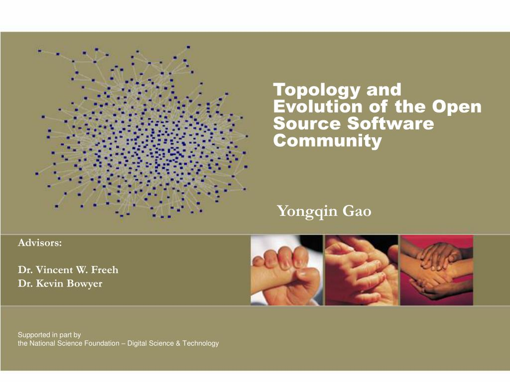 topology and evolution of the open source software community l.