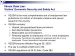 illinois state law victims economic security and safety act