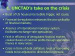 1 unctad s take on the crisis