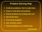 problem solving help16