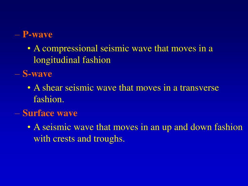 P-wave