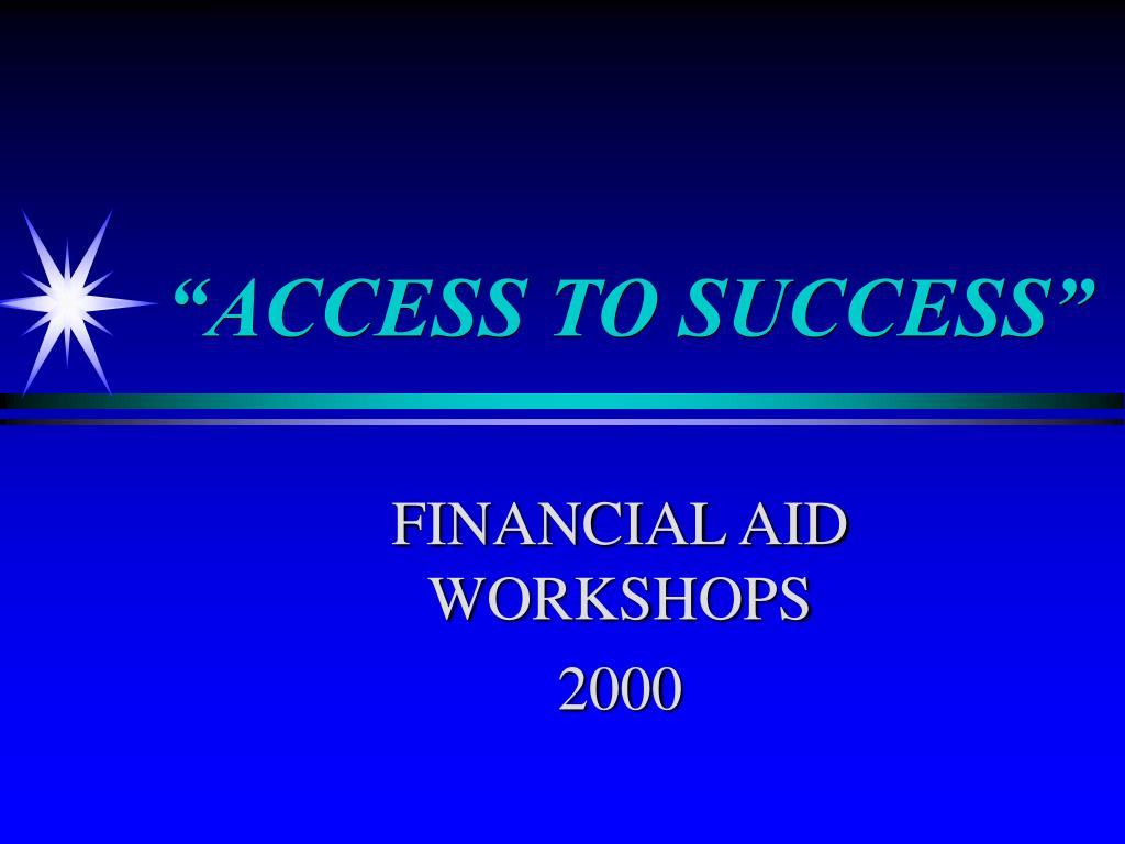 access to success l.