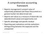 a comprehensive accounting framework