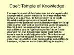 doel temple of knowledge
