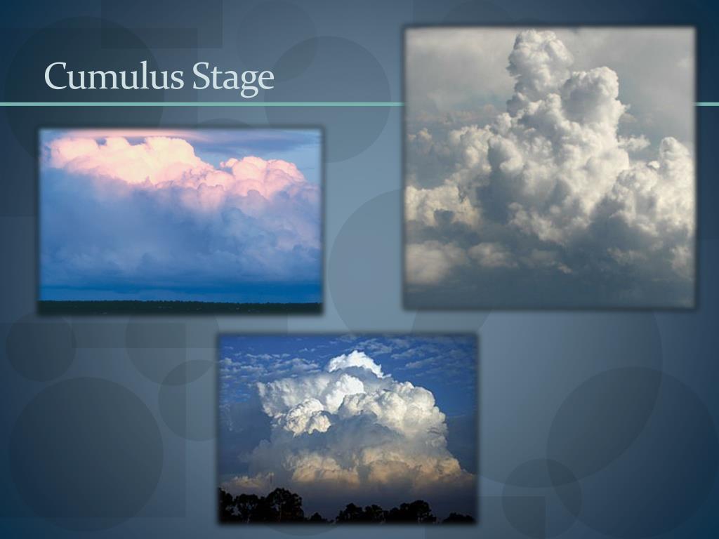 Cumulus Stage