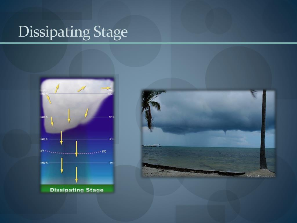 Dissipating Stage