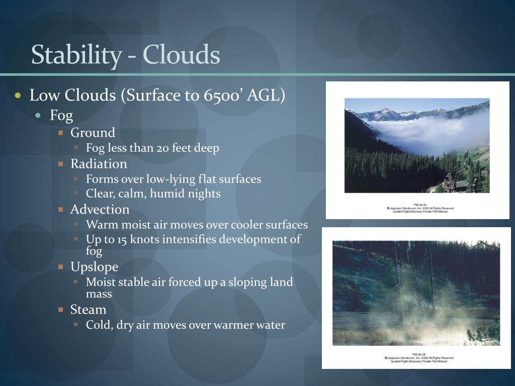 Stability - Clouds