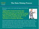 the data mining process9