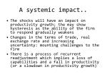 a systemic impact
