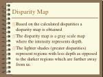 disparity map