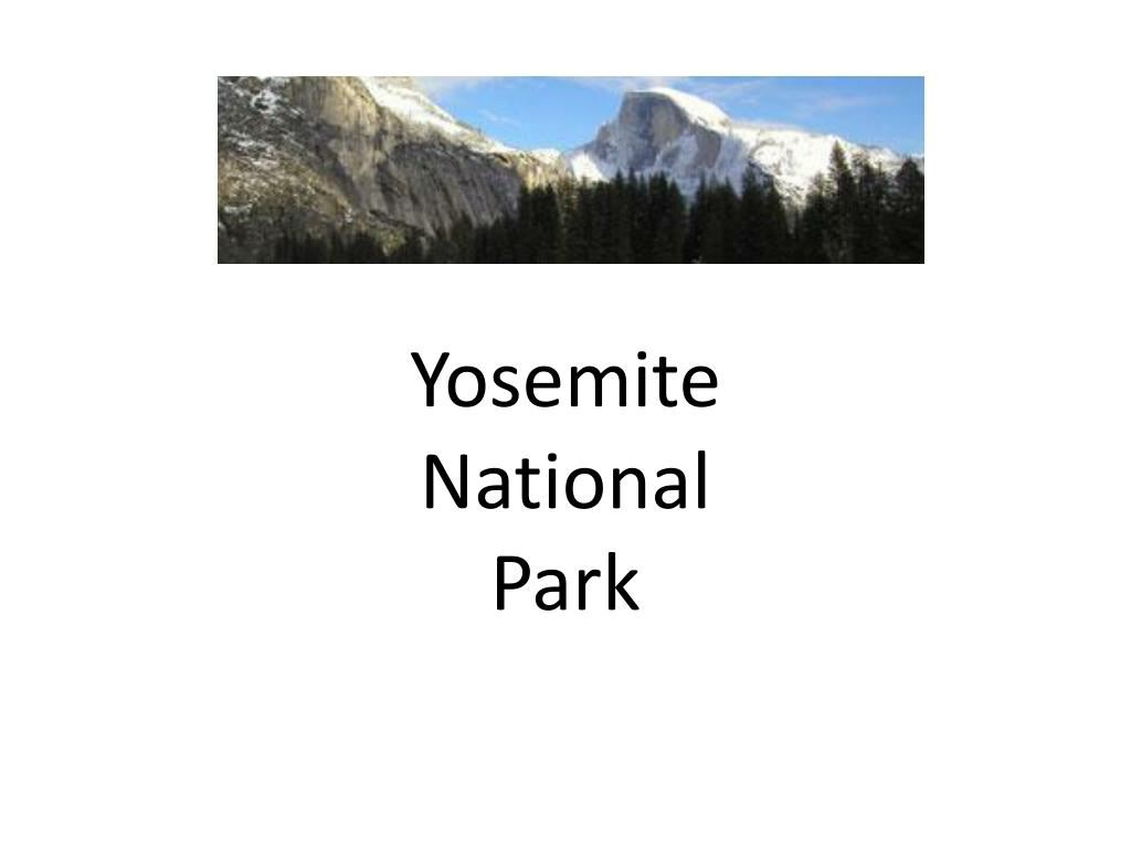 yosemite national park l.