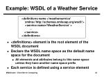 example wsdl of a weather service