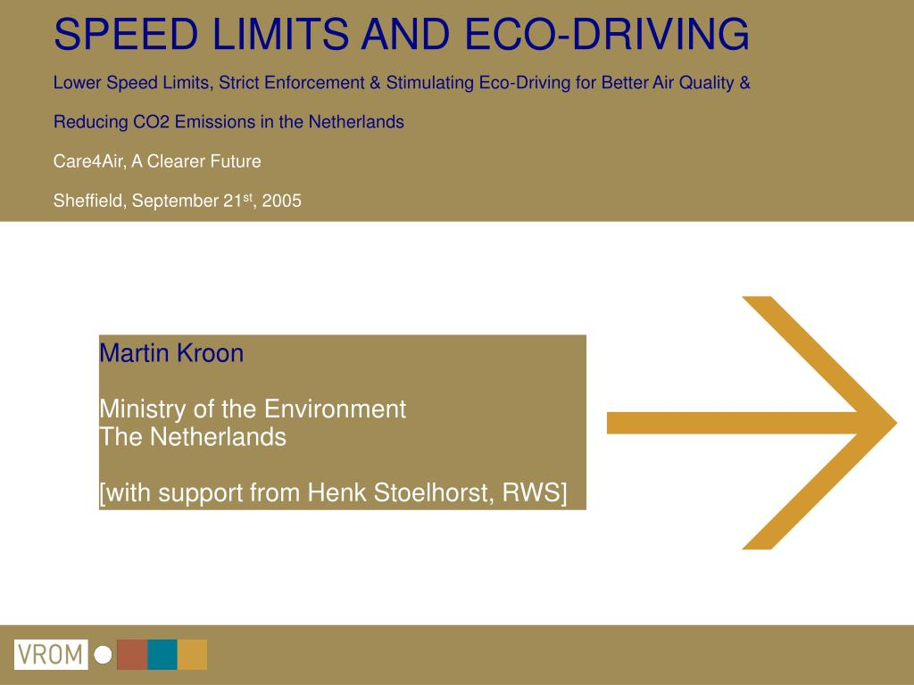 martin kroon ministry of the environment the netherlands with support from henk stoelhorst rws l.