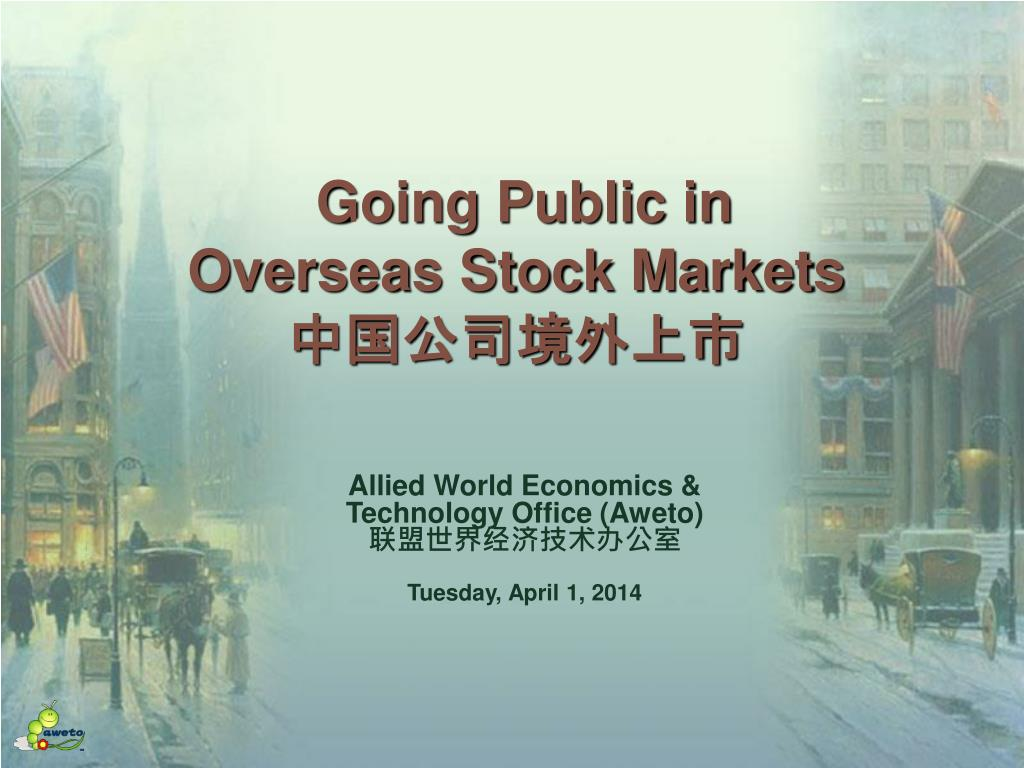 going public in overseas stock markets l.