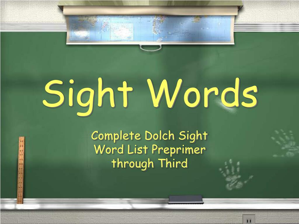 sight words l.