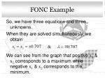 fonc example1