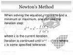 newton s method