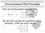 unconstrained nlp example1