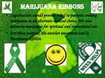 marijuana ribbons