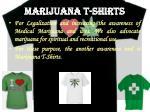 marijuana t shirts