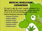 medical marijuana awareness