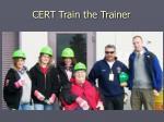 cert train the trainer