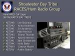shoalwater bay tribe races ham radio group