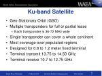 ku band satellite