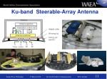 ku band steerable array antenna