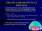 create a dramatic play prop box