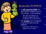 remember puppets