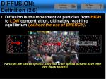diffusion definition 2 5