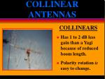 collinear antennas