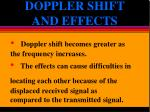 doppler shift and effects